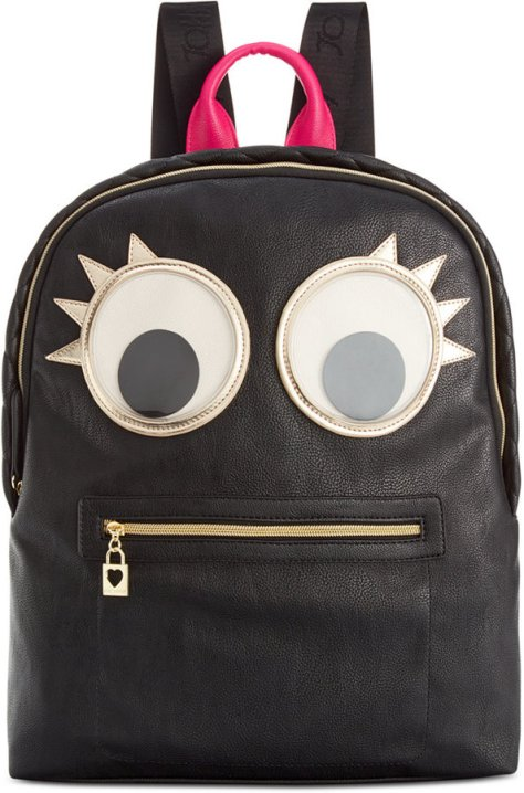 Betsey Johnson Googly Moogly Backpack by Betsey Johnson