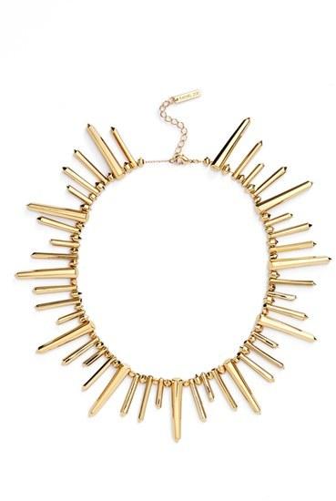 Rachel Zoe 'Stella' Spike Collar Necklace by Rachel Zoe